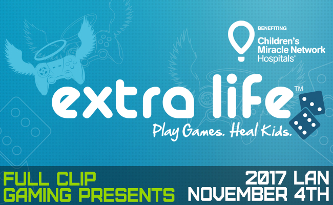 FCG Extra Life 2017 LAN Announcement